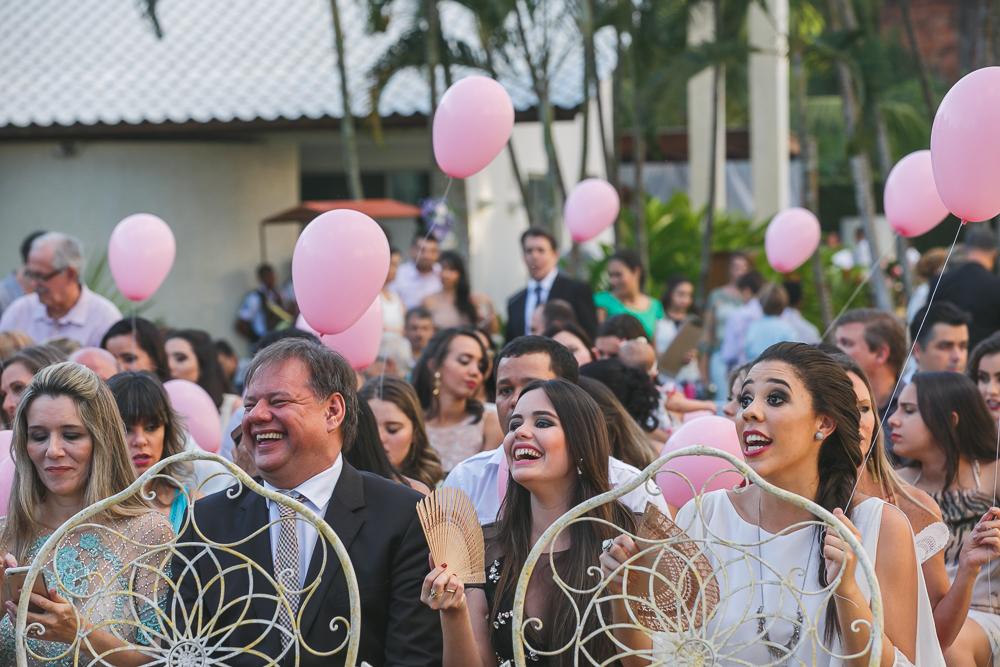 convidados na cerimonia Fotos de casamento Governador Valadares Josie Nader
