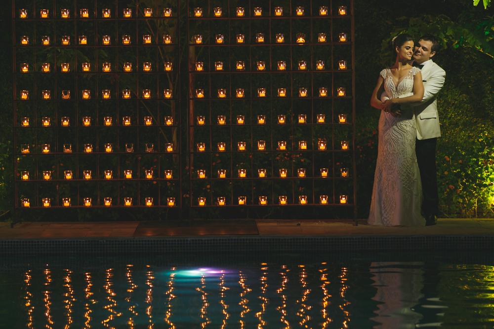 noivos e as velas Fotos de casamento Governador Valadares Josie Nader