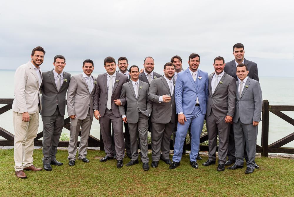 noivo e padrinhos antes da cerimonia, Josie NAder fotografia, Governador Valadares, fotógrafa de casamento