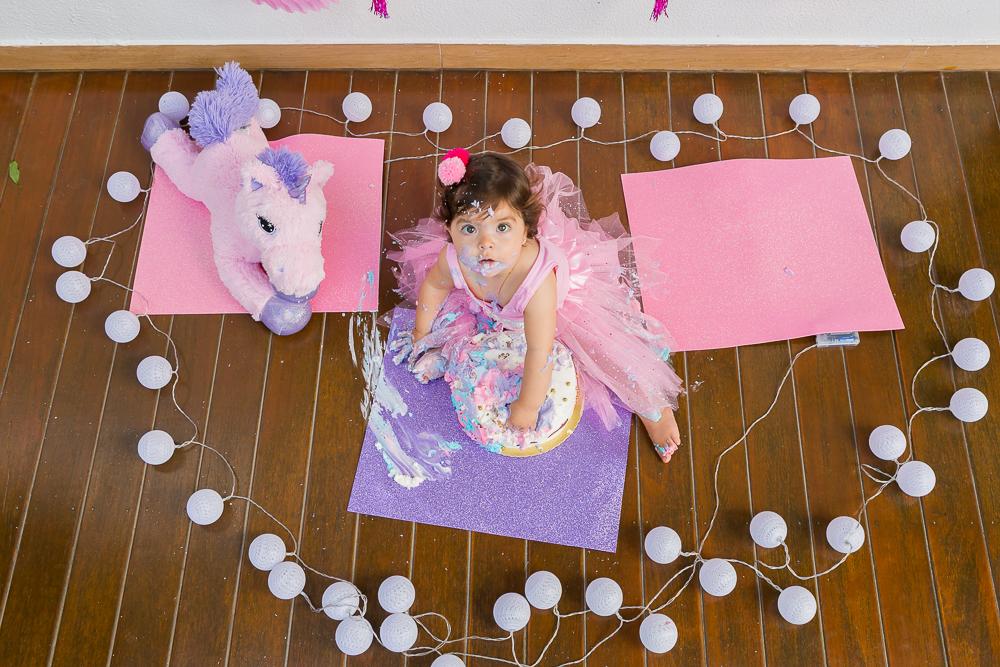 Smash the Cake, menina, Poney, fotografia de familia, menina, mundo rosa