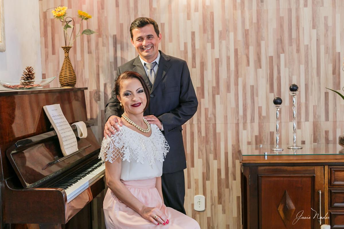 Foto de Junior e Márcia