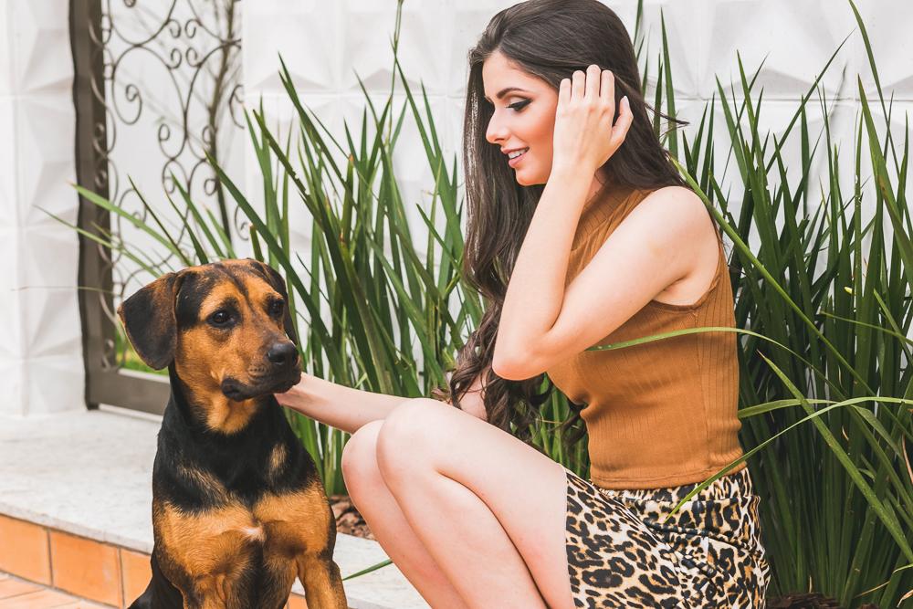 a menina e o cachorro, fotografia Josie Nader, book, 15 anos, ensaio fotografico book