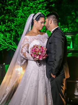 Casamentos de Michele & Leandro | Wedding Day em Rancho Mustang Pinda/SP
