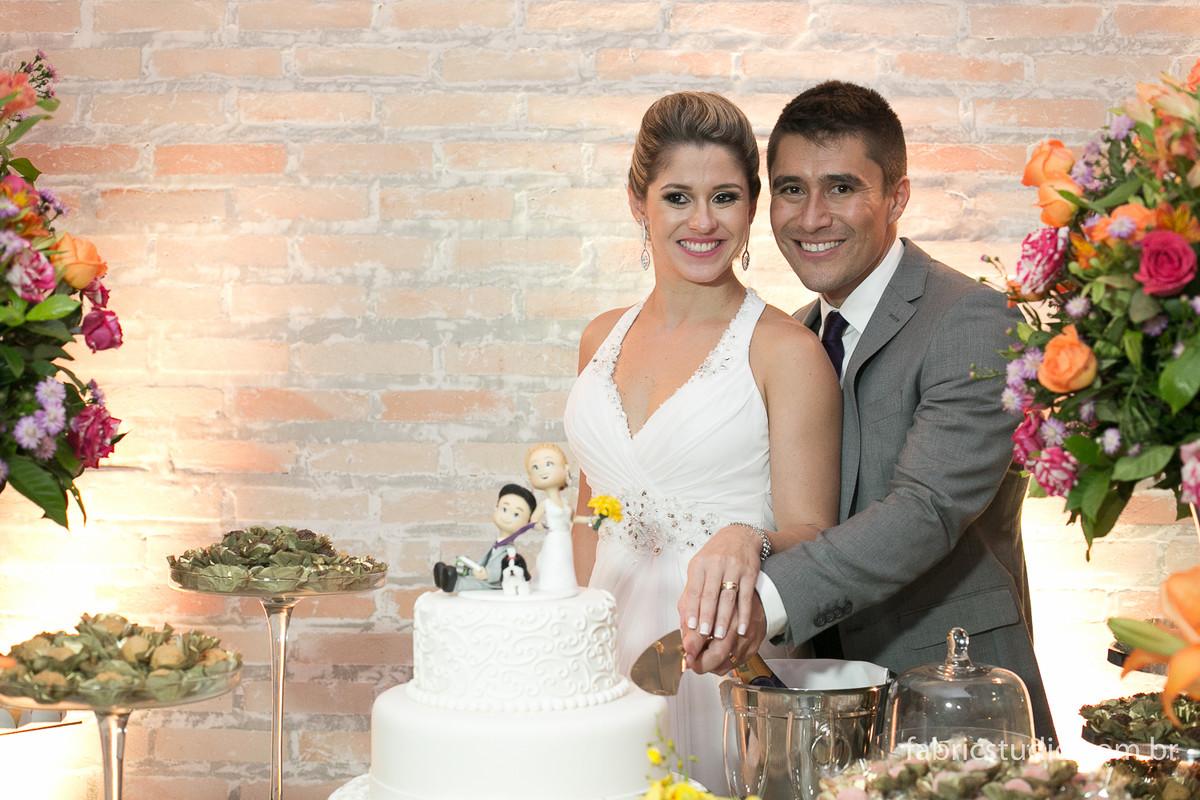 Foto de Marcela e Gustavo