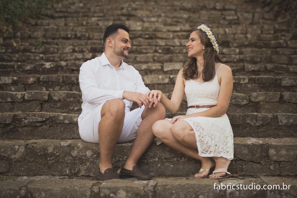 Foto de Débora e Vinicius