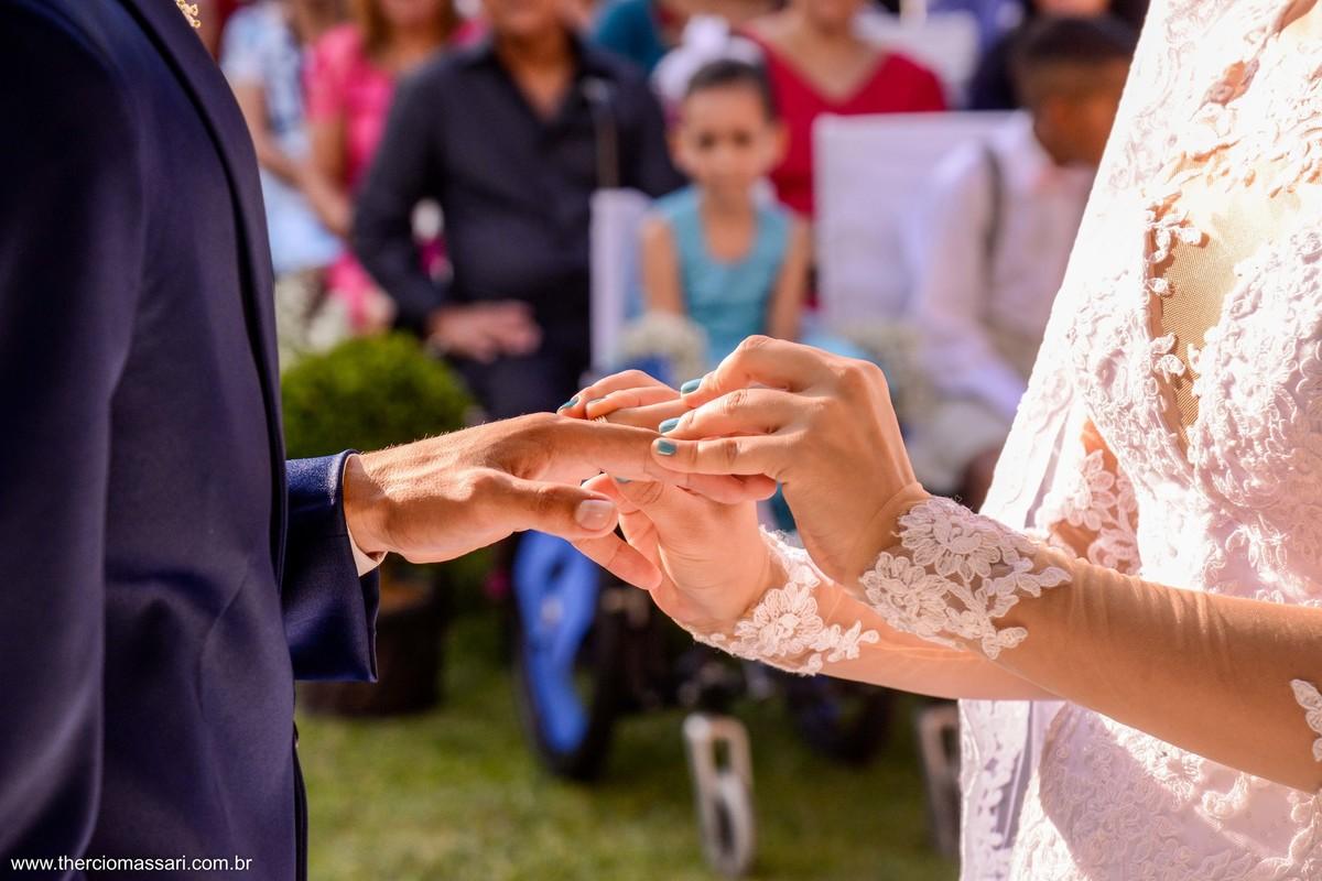 aliança para noivados
