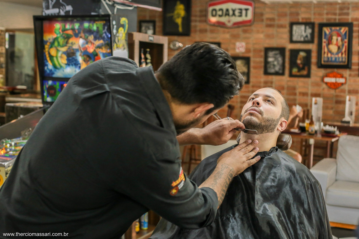 barbearia para noivos
