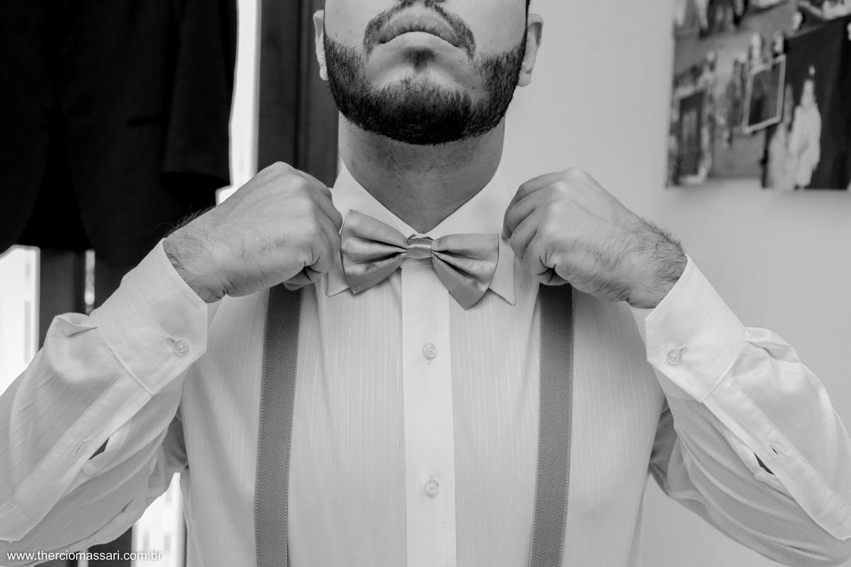 gravata borboleta para noivo