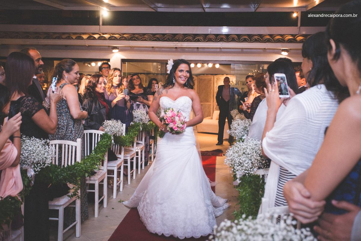 entrada noiva - Maison Delly- casamento rj