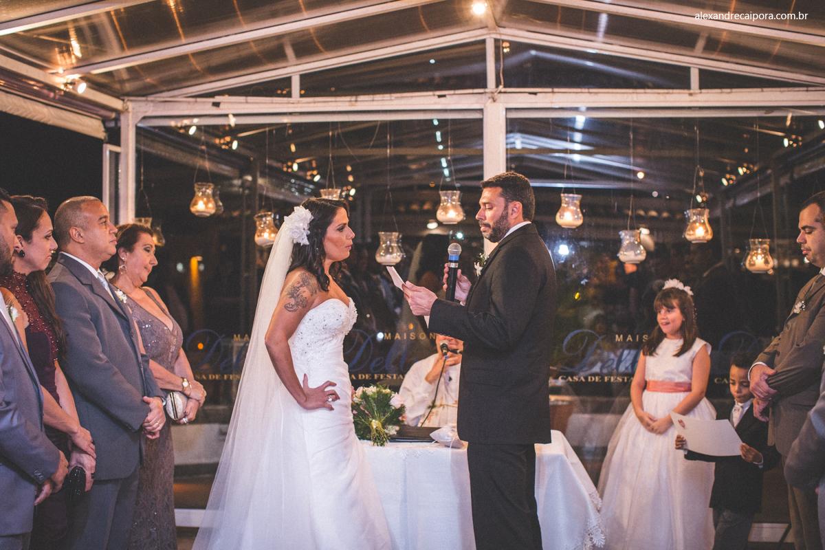 cerimonia de casamento - Maison Delly
