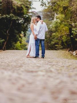 Ensaio Pré Casamento de Ingrid e Sérgio em Belo Horizonte - MG