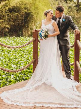Ensaio Pós Casamento de Karine e Matheus em Quintas da Jangada - Ibirité - MG