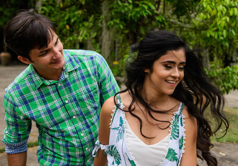Ensaios de Ingrid & João
