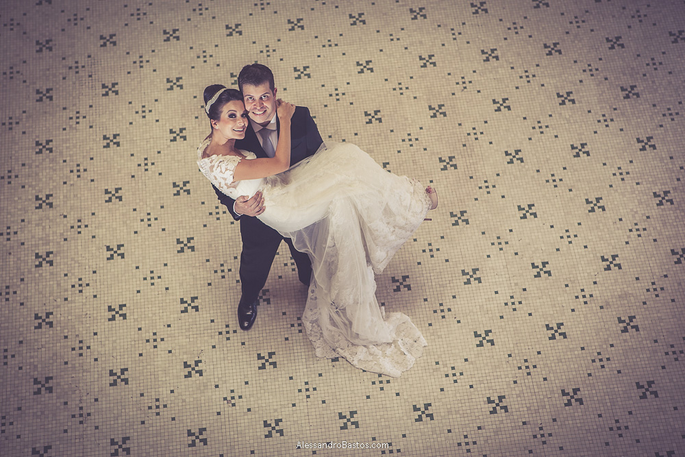 Foto de Bruna e Lucas