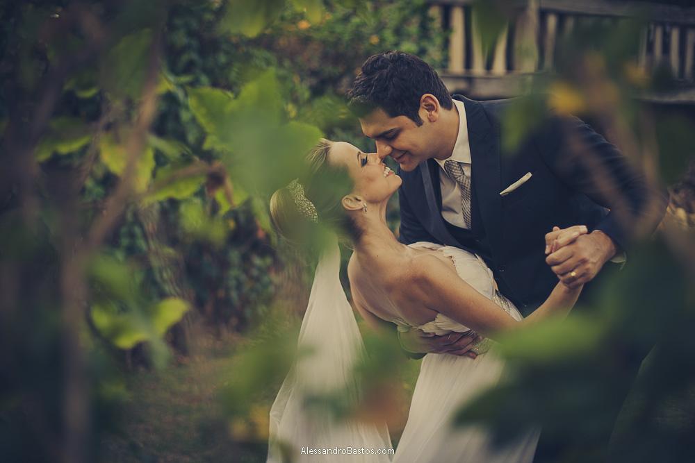 Foto de Patricia e Thiago