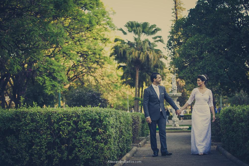Foto de Laís e Alex