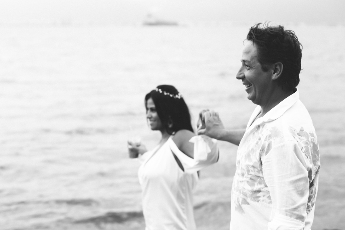 História do casamento surpresa da Ale e Kiko na Marina porto Ilhabela por Camila Kobata