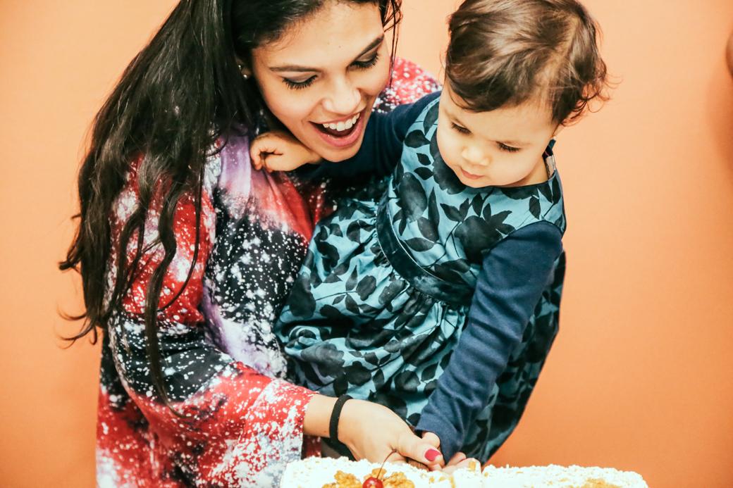 Foto de Aniversário 1 ano Valentina