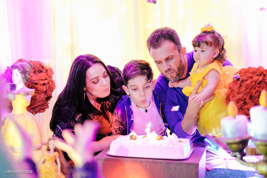 Planeta Kids aniversário 1 ano parabéns Beatriz Kids A Bela e a fera Camila Kobata