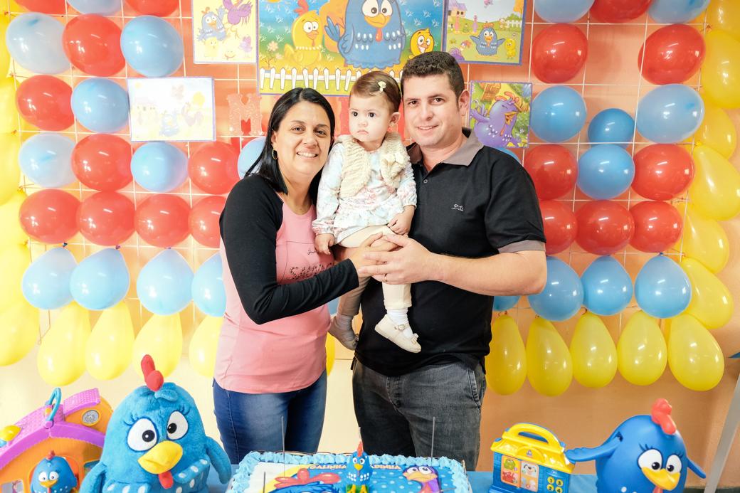 Aniversário 1 ano Mariana galinha pintadinha
