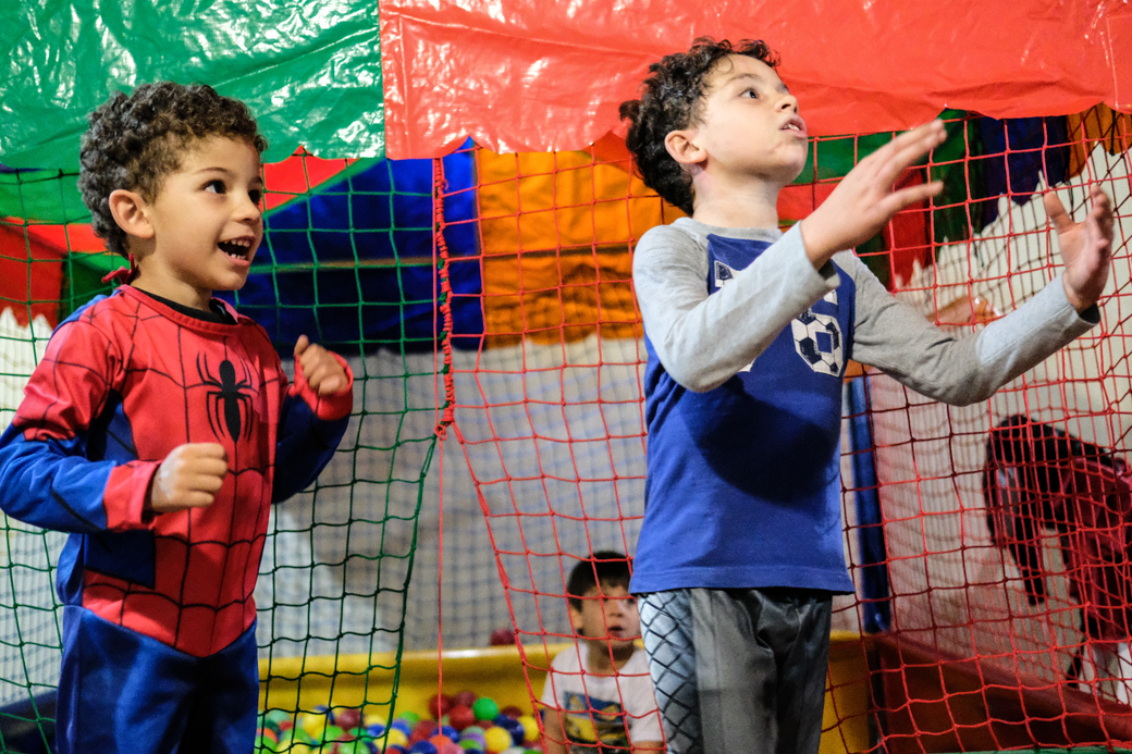 aniversario infantil fotografia Emerson Homem Aranha