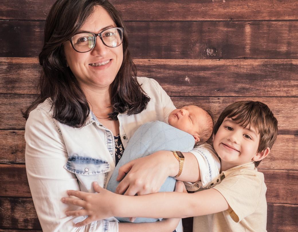 fotografia recem nascido Bernardo newborn