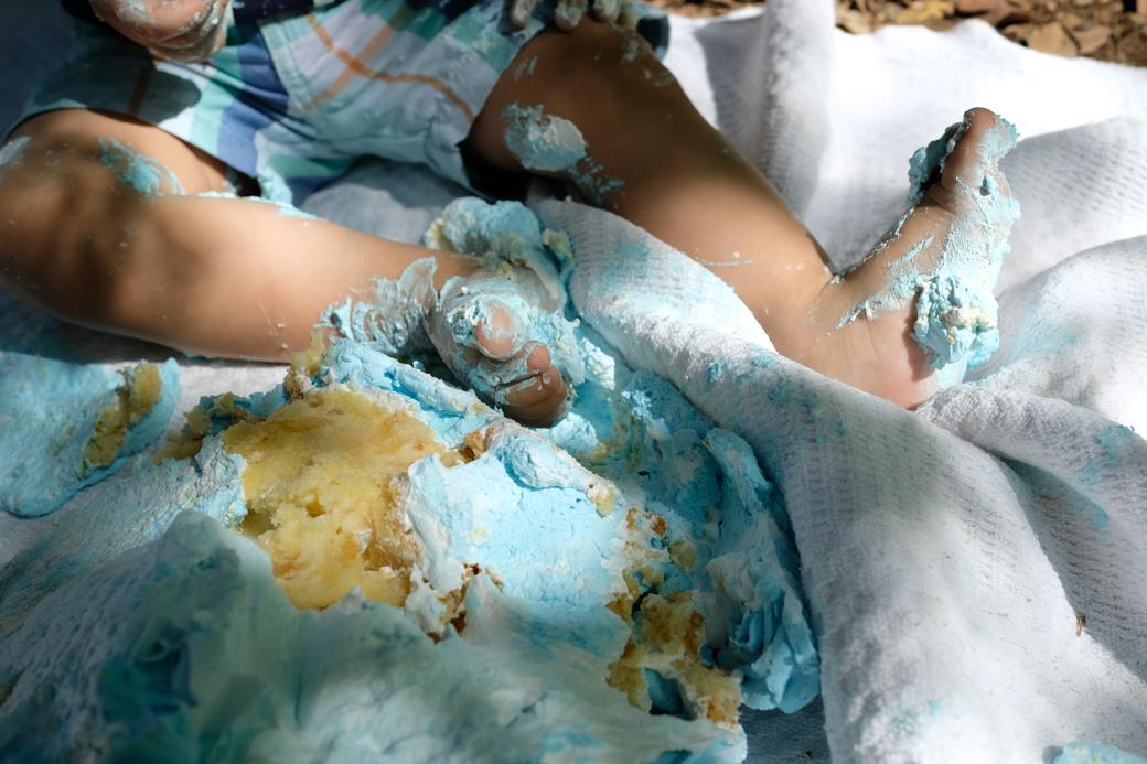 Smash the cake Pedrinho fotografia infantil ensaio familia camilakobata