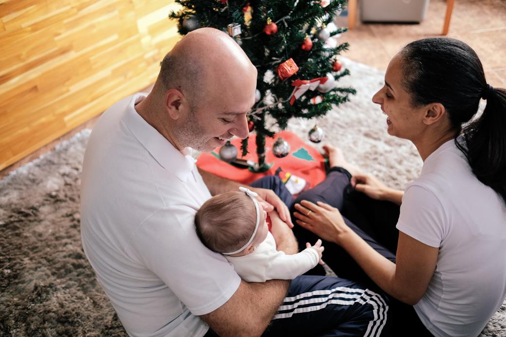 Ensaio familia bebe infantil Laura quarto mes natal