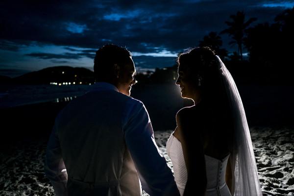 Casamentos de Thaís e Dave