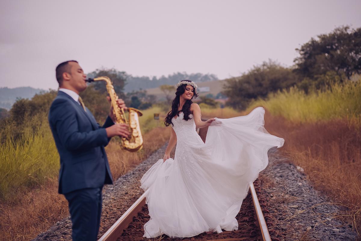 Foto de Sabryna e Wesley Passos