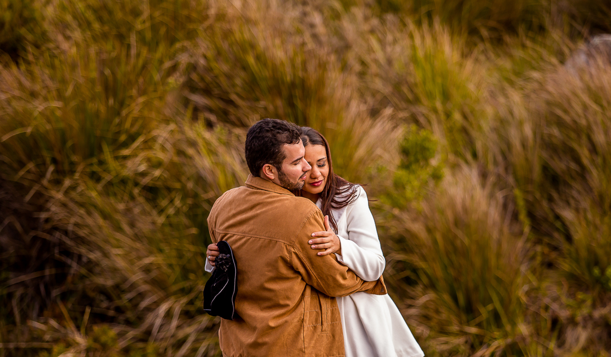Foto de Cléfer e Vanessa