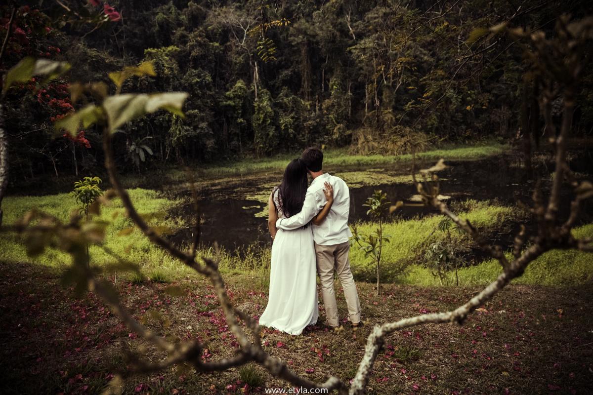 Foto de Niely e Cadu