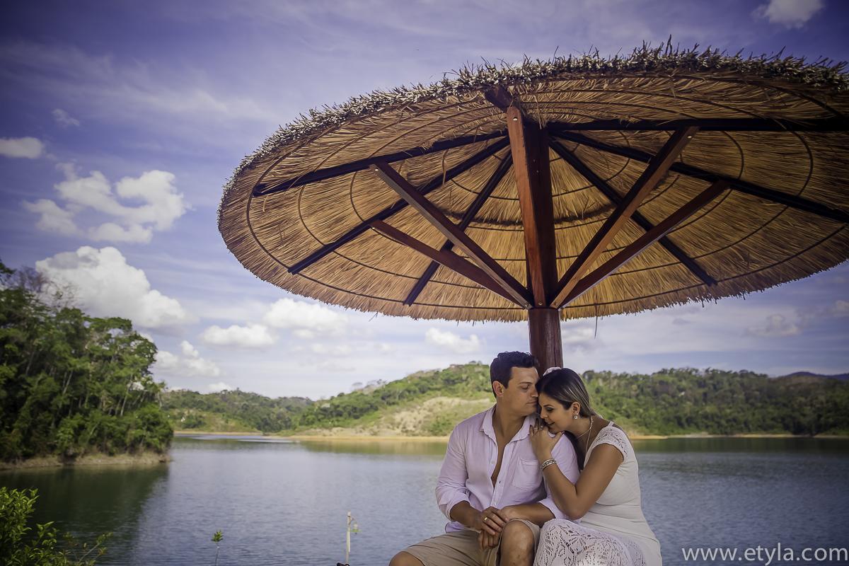 Foto de Roberta e Thiago