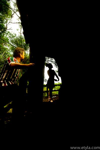 Foto de Elisa e Léo