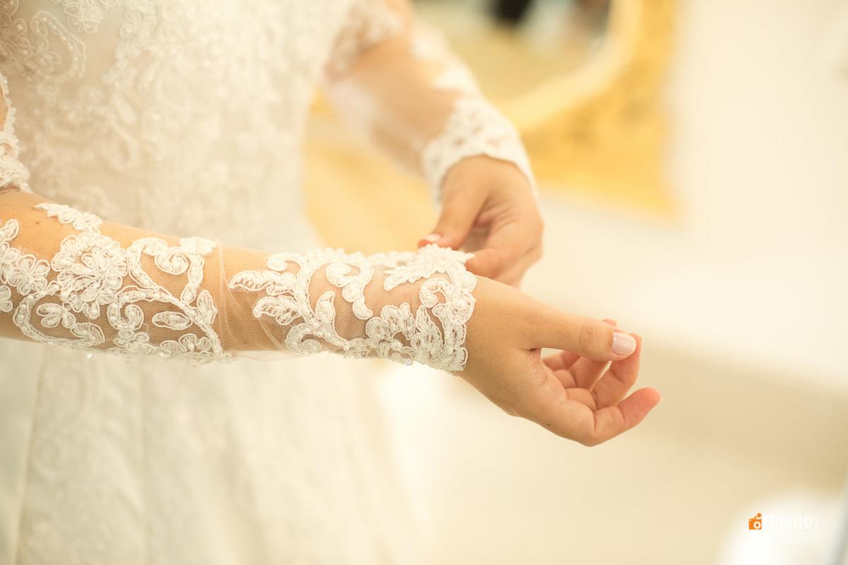 detalhes do vestido de noiva Luluza, por Thiago Mesquita