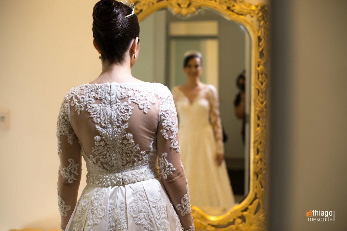 Evaldo Faria Hill, noiva Luciane no making of, por Thiago Mesquita