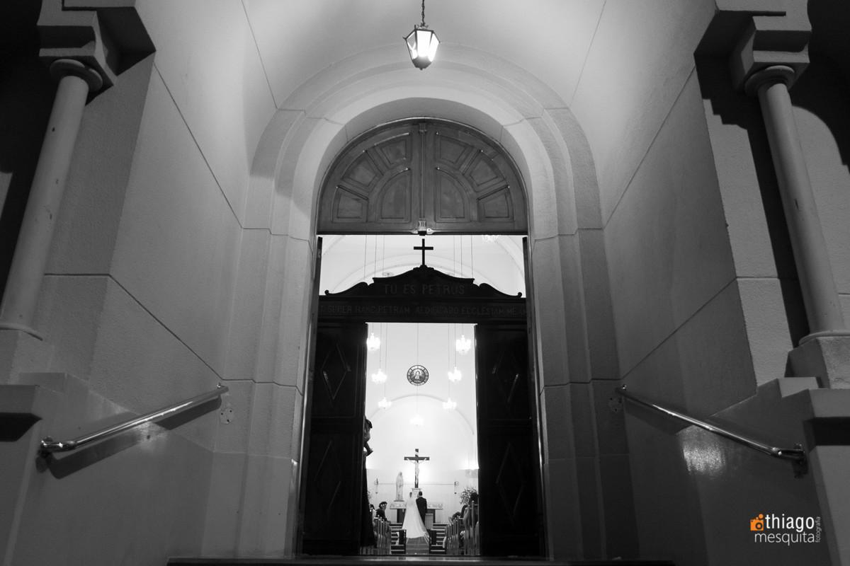 Entrada da Igreja Nossa Senhora das Dores em Uberlândia