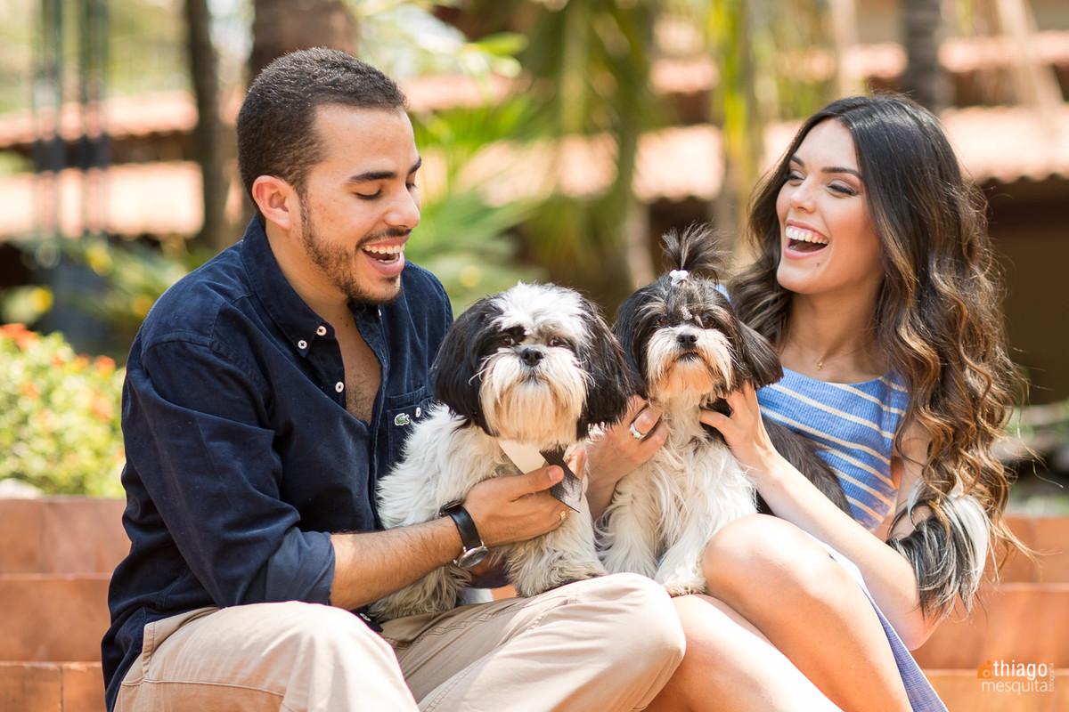 prewedding com cachorrinhos