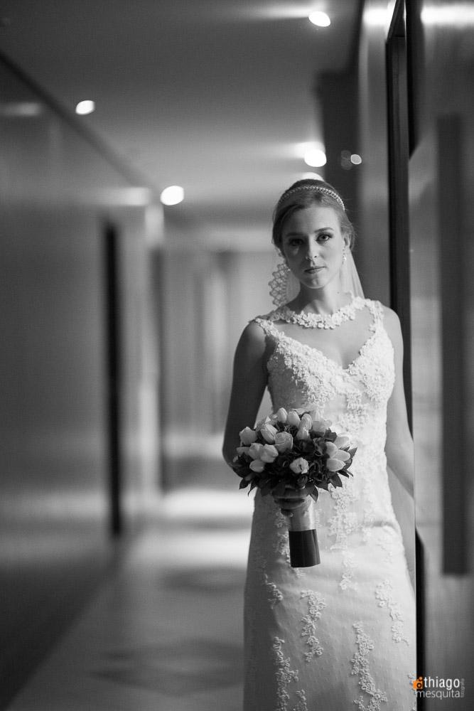 noiva em preto e branco, fotografo Thiago Mesquita