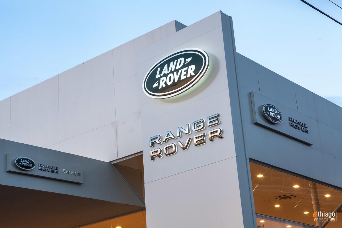 range rover land - eurobike uberlândia - volvo e jaguar