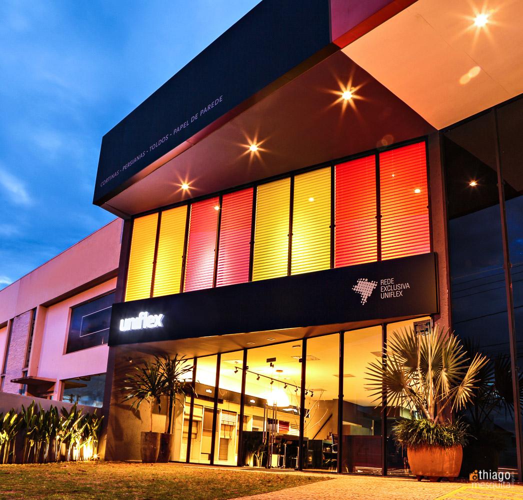 Uniflex em uberlândia - fachada da loja