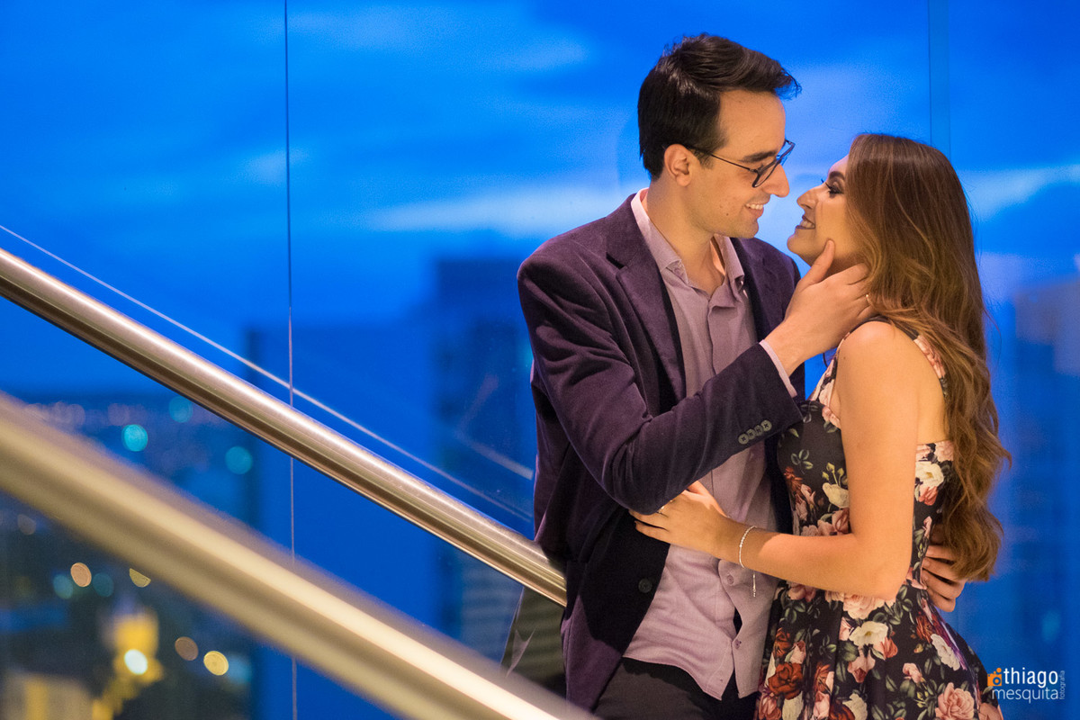 Camila e Daniel no Hotel Presidente
