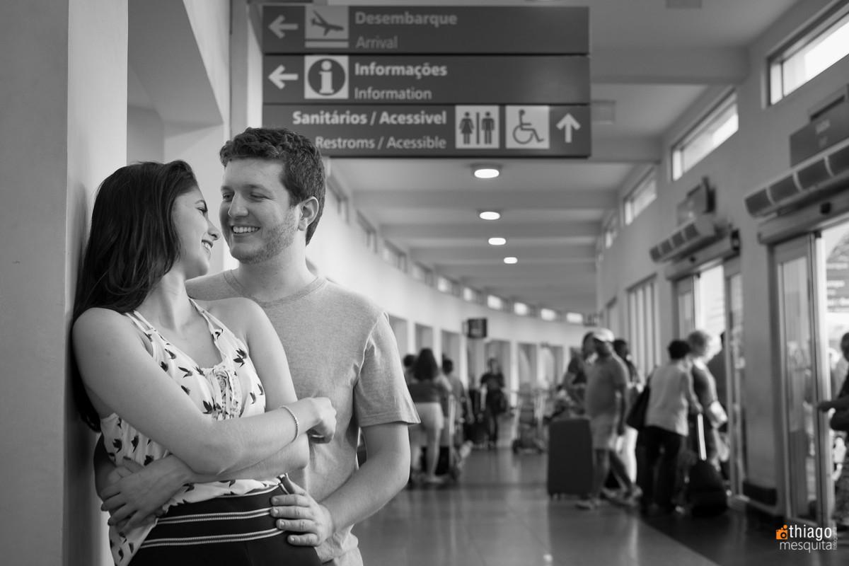 registro de ensaio fotografico no aeroporto de São Paulo, Fotografo Thiago Mesquita