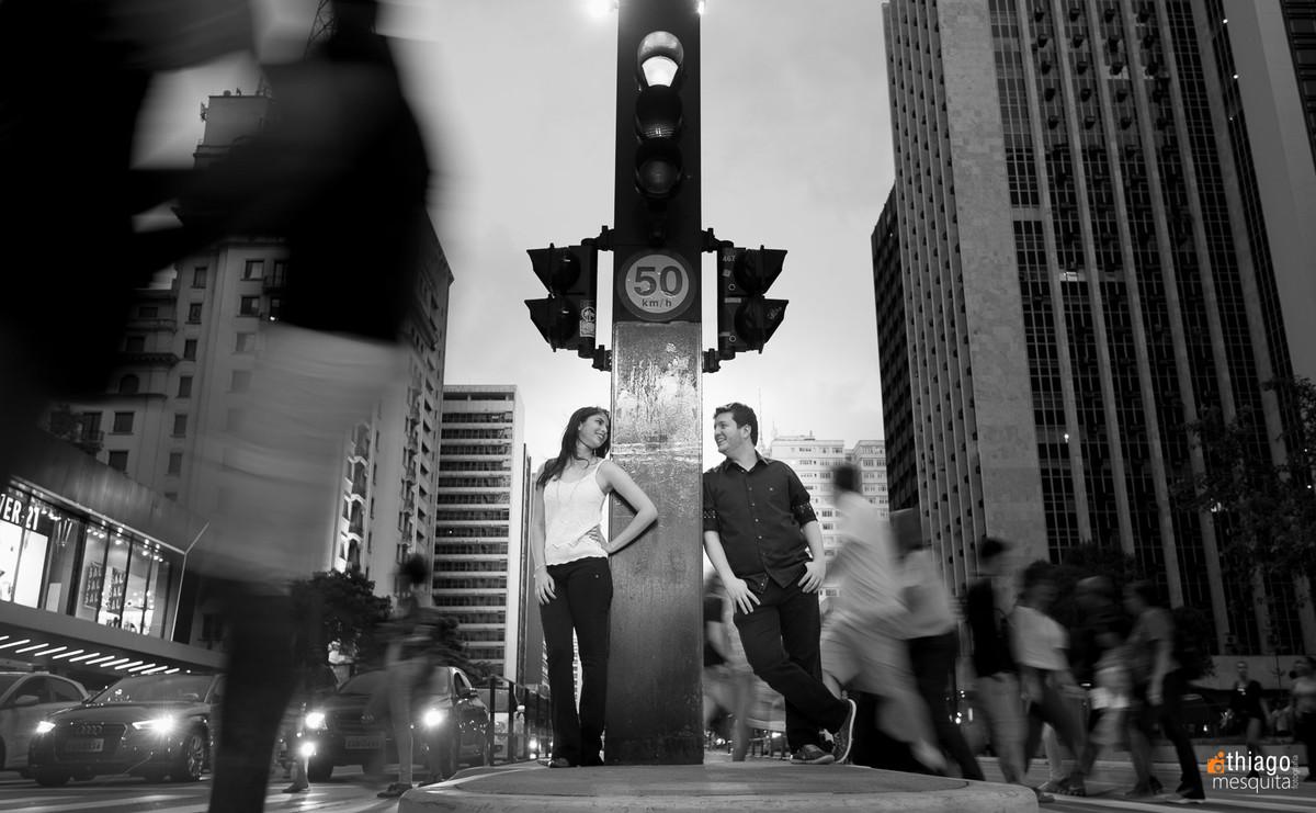 Avenidas movimentadas de São Paulo. fotografo Thiago Mesquita