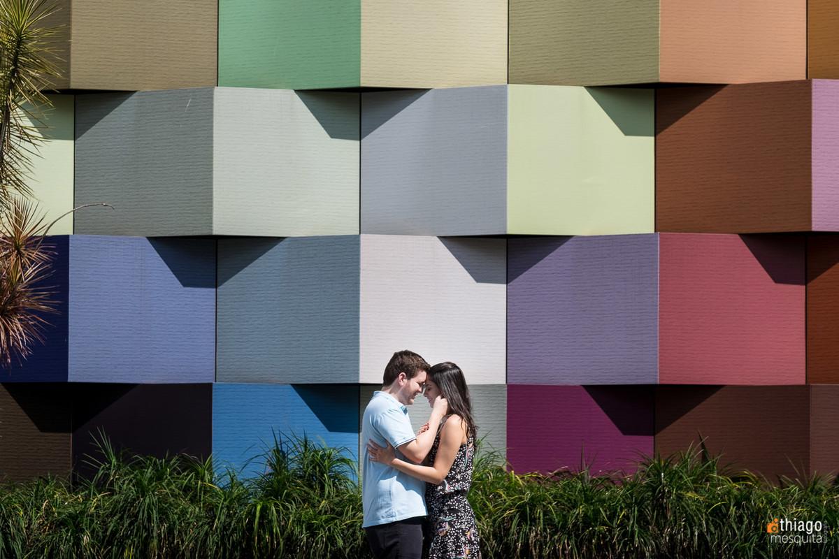 quadros coloridos em prewedding da Lorena e José, Thiago Mesquita fotografo