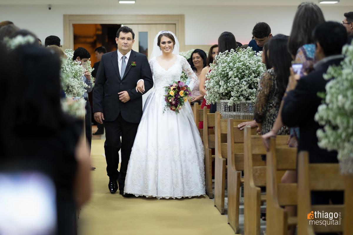 entrada da noiva camila ao altar , Thiago Mesquita