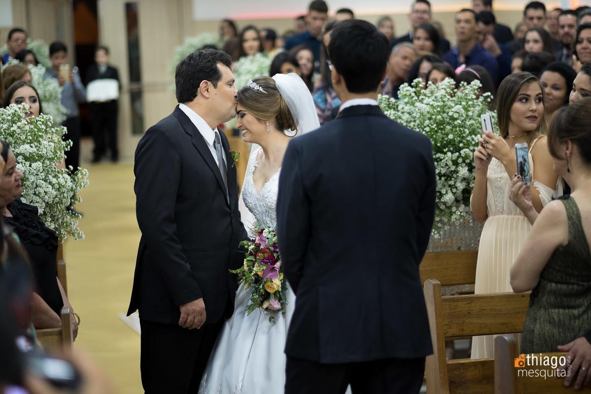 entrega da noiva no altar, fotografo Thiago Mesquita