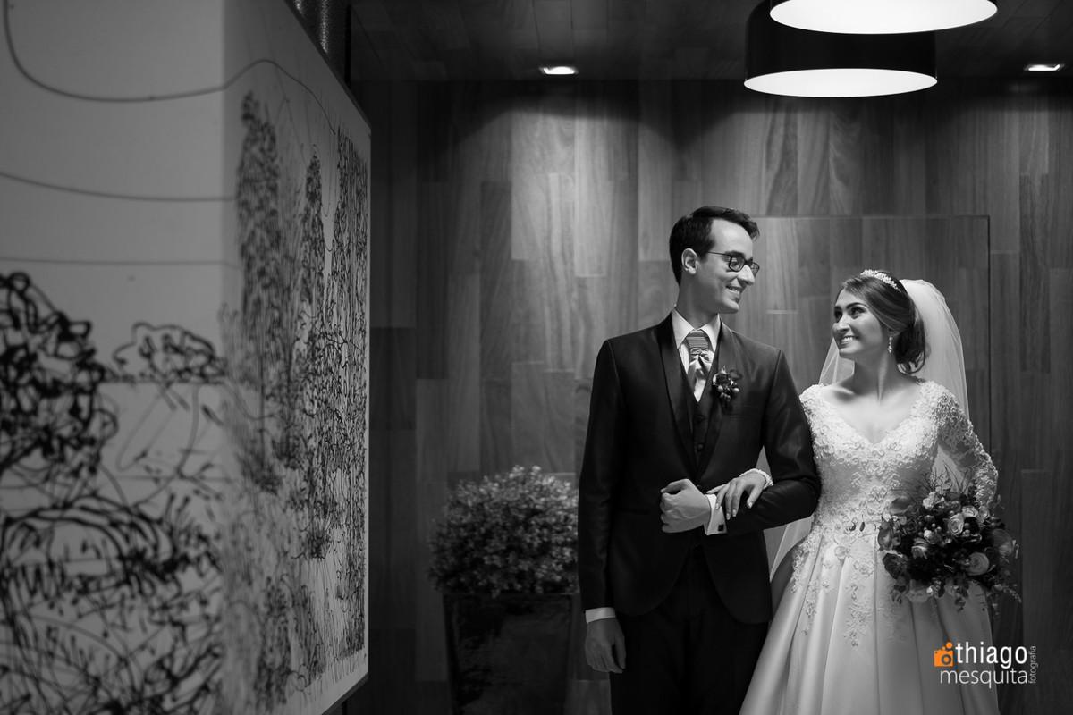 Ensaio fotografico em Uberlândia dos noivos Camila e Daniel, antes da Festa de recepção