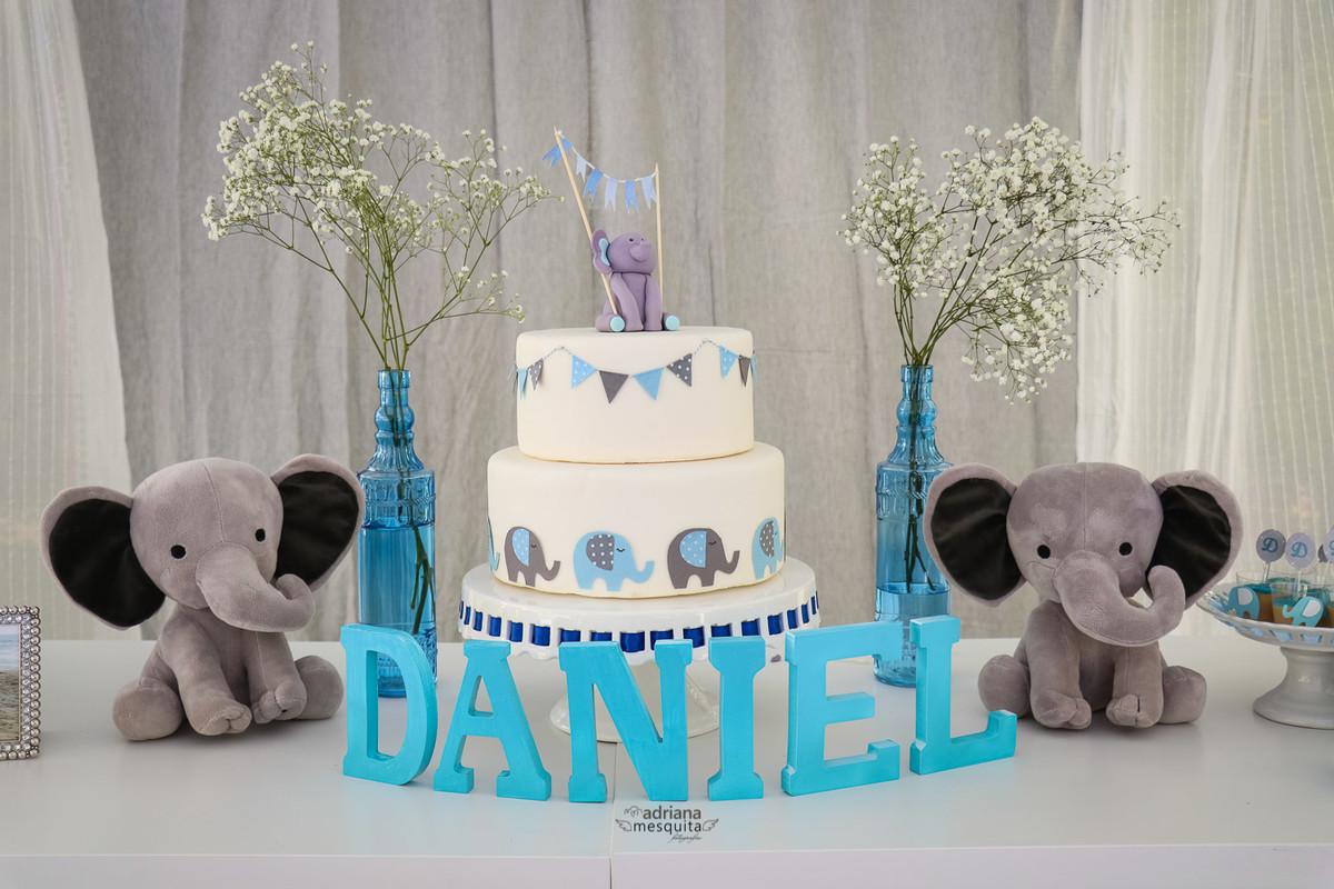 baby shower elefante