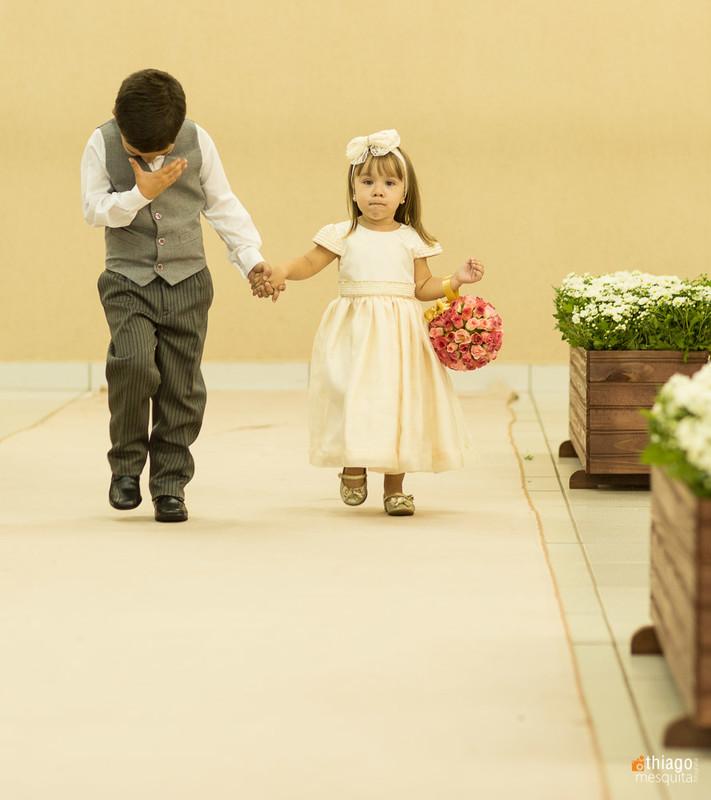 Pajens no casamento